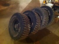 """31"""" tires on 6 bolt chevy rally rims"""