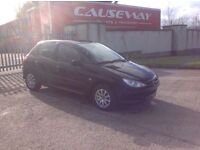 24/7 Trade sales NI Trade Prices for the public 2003 Peugeot 206 1.1 look 5 door low miles