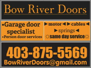 NEW garage doors in Calgary and area INSTALLED