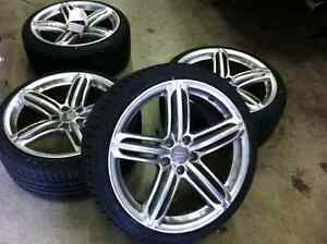 2014 audi s4 oem peeler rims and tires