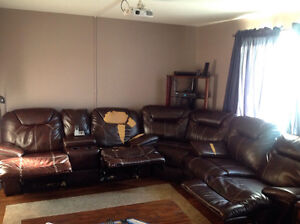 Home theatre style couch