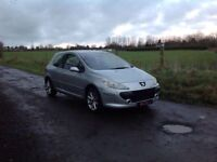 24/7 Trade sales NI Trade Prices for the public 2006 Peugeot 307 1.6 HDI S 3 door Silver full mot
