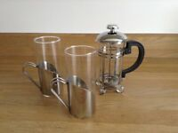 Nice coffee set for couples ;) £5 used only once, great conditions ;)