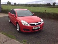 2007 Vauxhall vectra 1.9 CDTI Exclusive red 6 speed full mot low miles 68.000