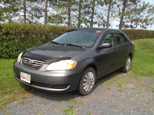 2006 Toyota Corolla CE-Manual transmission