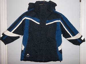 Heavy Hooded Winter Coat-Size 3/3X