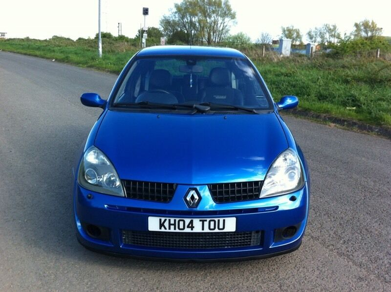 2004 04 Plate Renault Clio Sport 182 may px or swap  in Newcastle
