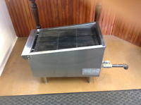 15 inch Commercial Gas Char Broiler Like New 175.00