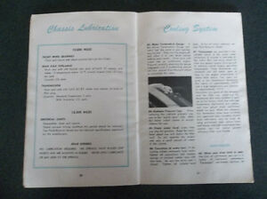 1950 Ford glove box owner's manual London Ontario image 6