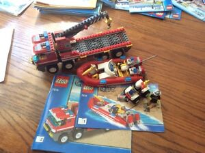 LEGO City - Off-Road Fire Truck and boat - 7213