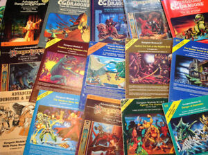 Dungeons & Dragons and other RPG collections