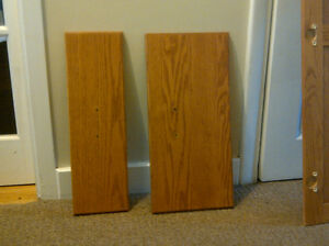Kitchen cabinet doors - oak
