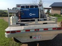 Welding truck Ford F-350 , miller trailblazer