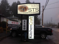 STS Cabinets Now Open In Nanaimo