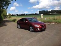 24/7 Trade sales NI Trade prices for the public 2009 Mazda 6 2.0 D TS 2 Sport Wine Red Met
