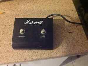 Marshall switch pedal
