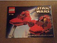 Lego Star Wars 7119 twin pod car