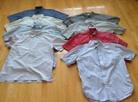 chemises manches courtes/short sleeves shirts