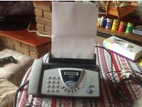 Brother Fax T-104 USED Good working Pick up only £15