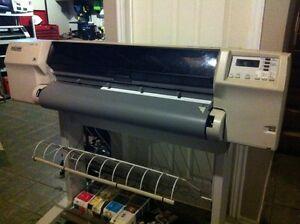 HP design jet wide format printer