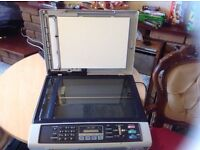 Brother multifunction printer with fax £8