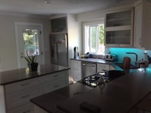 Cultus Lake year round top floor of house for rent.  3 bedroom