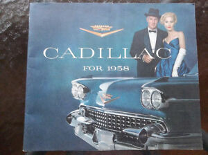 1958 Cadillac dealer showroom catalog
