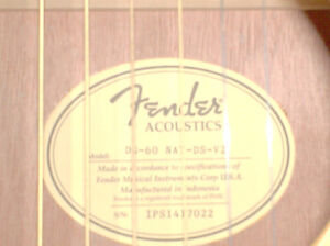 brand new fender giutar with case Cornwall Ontario image 3