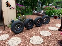 4. 15 inch tire and rims