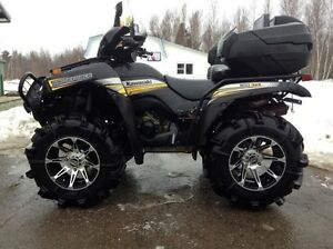 kawasaki brute force 650 on warranty