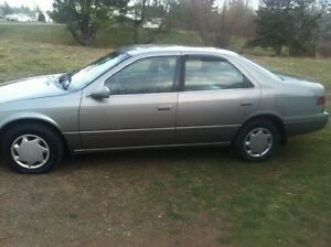 Toyota camry with low milage