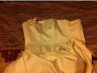 Ivory wedding dress size 12
