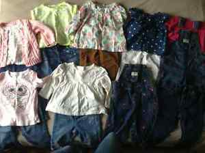 Gap warmest down coat & 24 month girls clothes London Ontario image 3