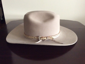 Men's Stetson Hat - Size 7 5/8 - With Accessories