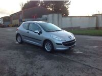 24/7 Trade sales NI Trade Prices for the public 2007 Peugeot 207 1.4 Urban 3 door Silver low miles