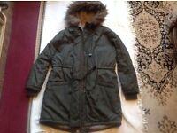 Mango ladies coat casual size S used £8