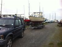 Boat services piggyback trailer diving moorings