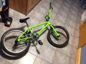 Upgraded bmx(Lime Green)