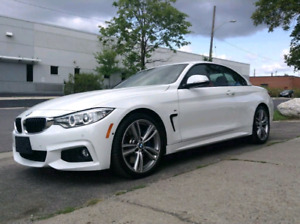 BMW 435i M SPORT PACKAGE /CONVERTIBLE / LOW KM