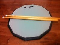 """Vic Firth Single Sided Practice Pad 12"""""""