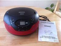 CD Radio Boombox