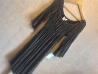 BNWT studio M women's stretch grey dress size S new £5
