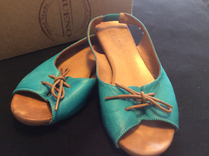 Beautiful Bueno leather sandals for sale