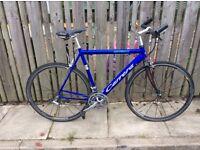 Carerra gryphon hybrid bike