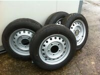 Ifor Williams cattle trailer wheels 175/75/16 complete Hudson Nugent