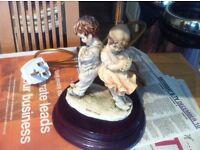 Italian figurine lamp