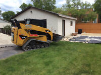 Skid Steer / Bobcat Services Excavating / Levelling / Post Holes
