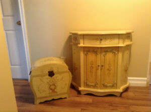 TABLE AND MATCHING STORAGE UNIT