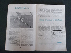 1950 Ford glove box owner's manual London Ontario image 10