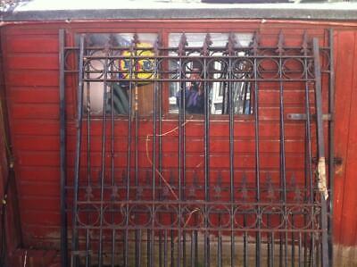 Pair of Wrought Iron Gates Driveway Garden